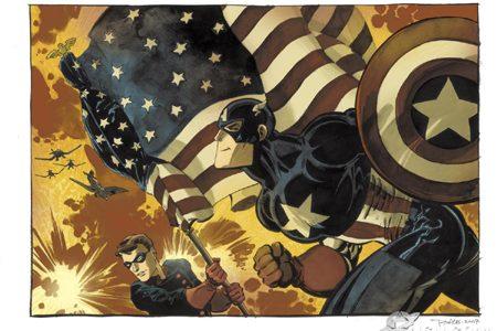 Loeb y Sale vuelven a la carga con Capitán América: Blanco