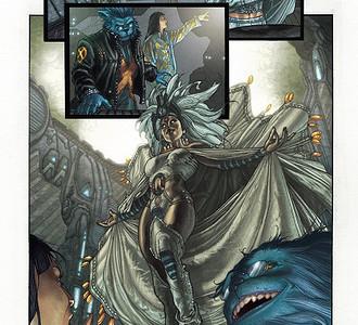 Astonishing X-Men, second stage, primeras paginas