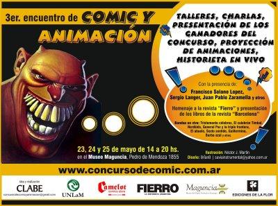 Tercer encuentro de comic y animacion
