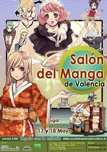 Salon del Manga de Valencia 2008
