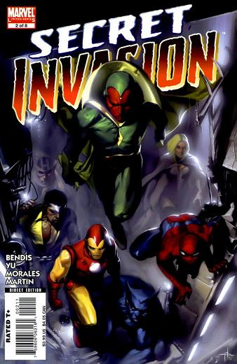 Portada de Secret Invasion de DellOtto