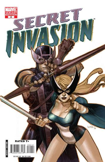 Portada de Secret Invasion de Yu