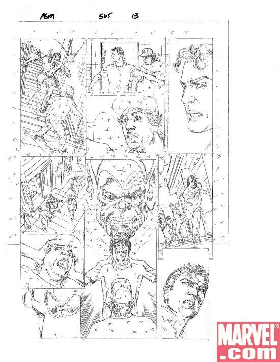Amazing Spiderman #565 y Secret Invasion
