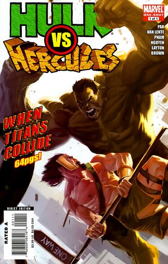 Hulk vs Herc, when titans collide