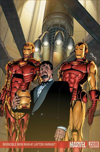 Invencible Iron Man 1 Layton