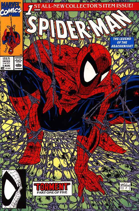 Spiderman #1 1990