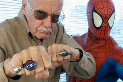 Stan Lee y sus nuevos superheroes