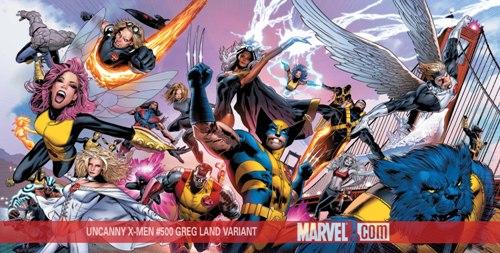 Uncanny X-Men Greg Land