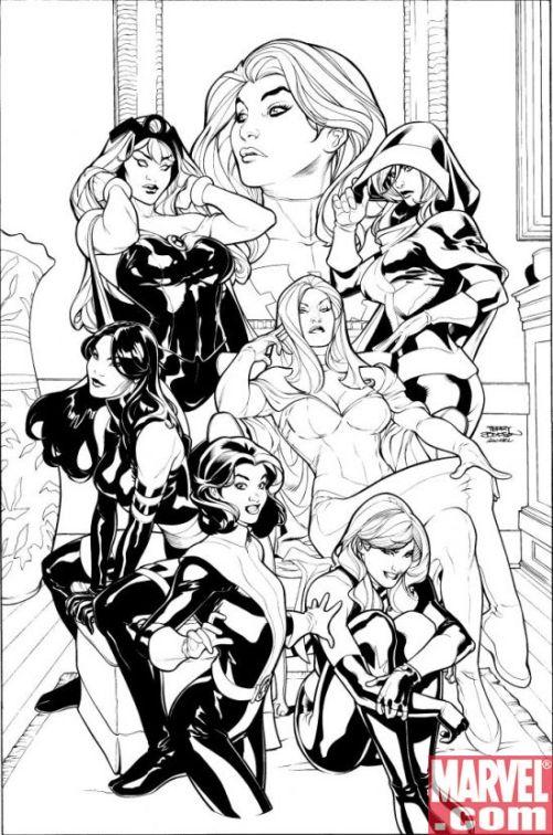 Uncanny X-Men Terry Dodson