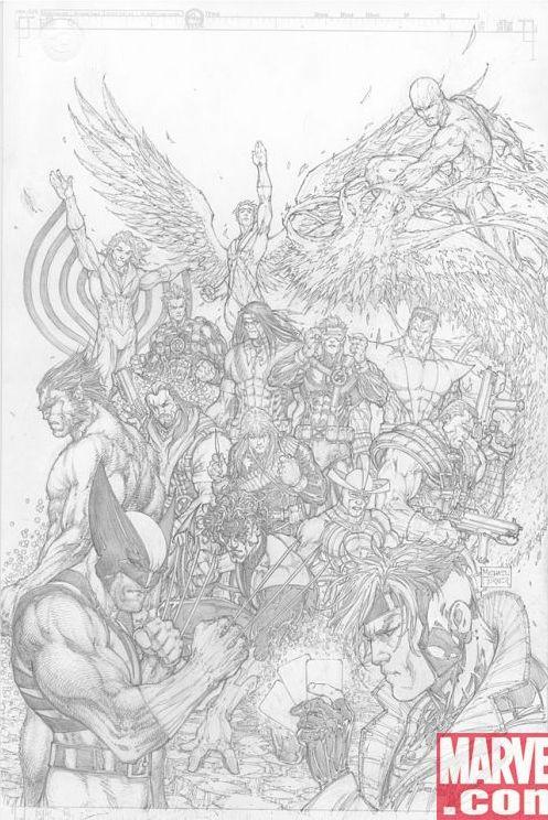 Uncanny X-Men Michael Turner