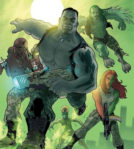 World War Hulk Gamma Corps