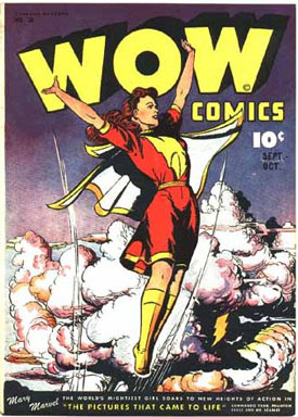 Mary Marvel Wow