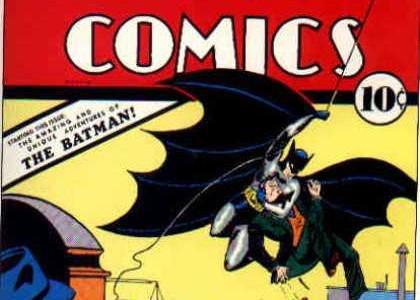 Batman en portada por primera vez
