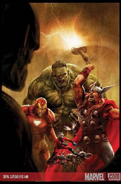 Portada de New Avengers #40