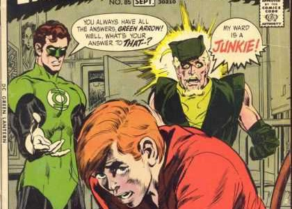 Green Lantern #85, una portada social