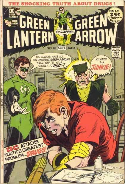 Portada de Green Lantern #85