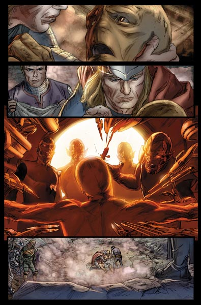 Secret Invasion Thor interior