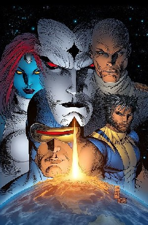 X-Men, complejo de Mesias, portadas alternativas