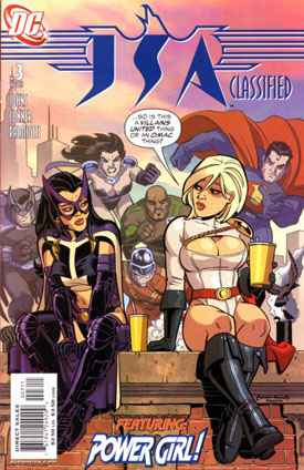 Power Girl JSA