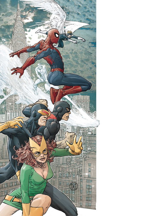Spiderman y X-Men