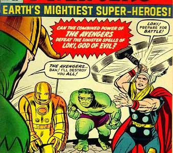 La aparicion de Los Vengadores, portada para recordar