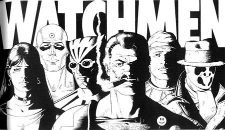 Watchmen blanco y negro