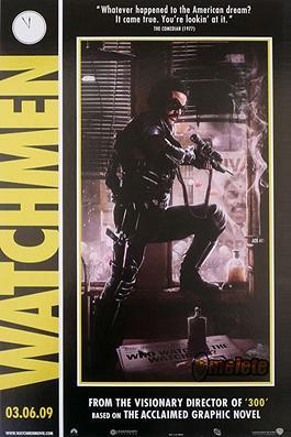 Watchmen el comediante
