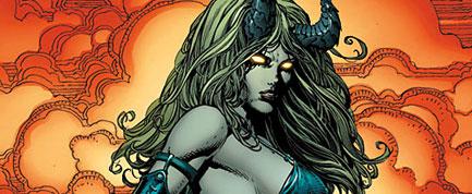 X-Men: Infernus, bocetos y portada