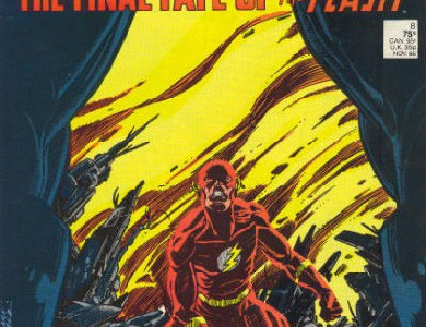 Crisis en Tierras Infinitas, portada de Flash