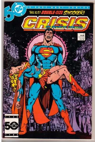 Portada muerte de Supergirl