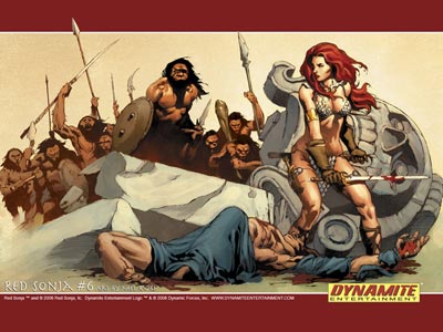 Red Sonja 2, arqueros