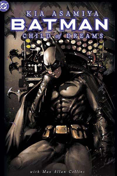 Portada Batman child of dreams
