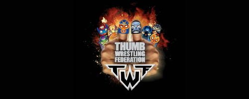 TWF, Lucha de Pulgares en Cartoon Network