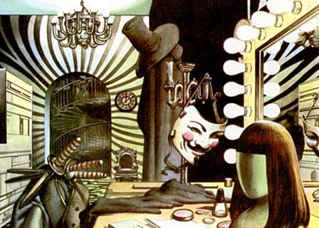 V de Vendetta en comic