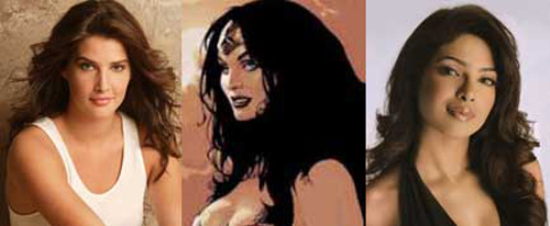 Actrices para Wonder Woman