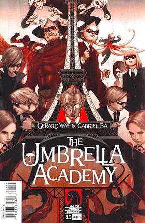 Portada de Umbrella Academy