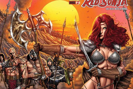 Red Sonja Anual 2, con dragones
