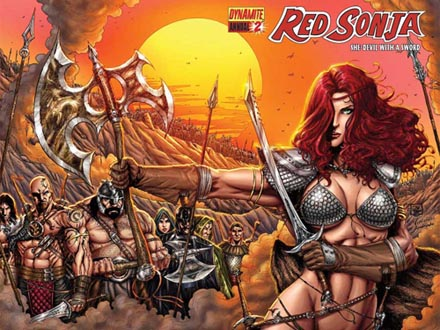 Red Sonja Anual