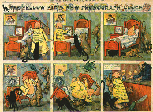 The Yellow Kid, el origen del cómic moderno