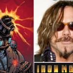 Mickey Rourke, uno de los villanos de Iron Man 2