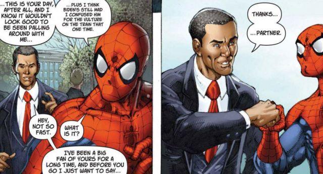 spiderman-y-obama