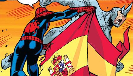Spiderman, en Cádiz