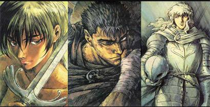 Berserk, la leyenda del espadachín negro