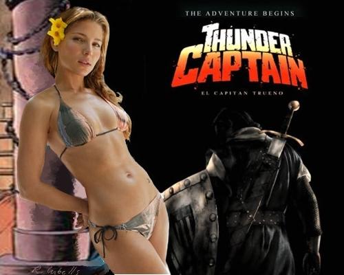 El capitán Trueno, al cine con Elsa Pataky