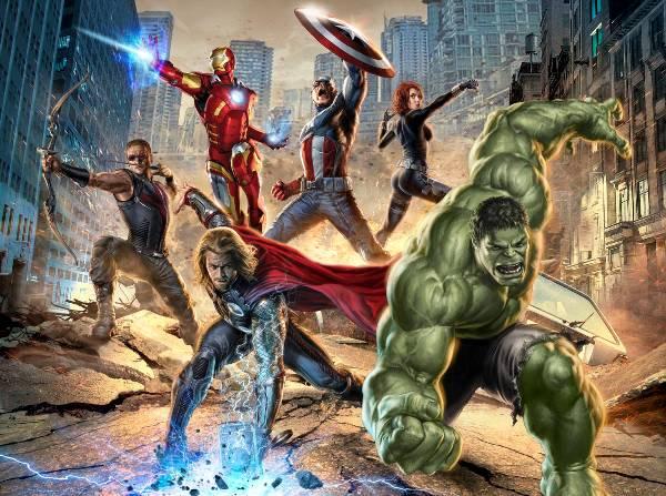 Los Vengadores en el Cine
