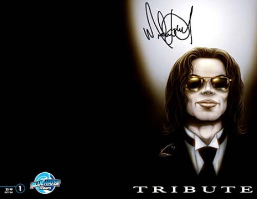 Comic tributo a Michael Jackson