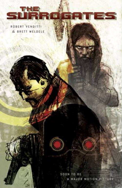 "Portada del cómic ""The Surrogates"""