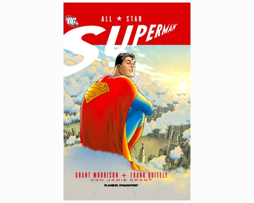 All Star Superman portada