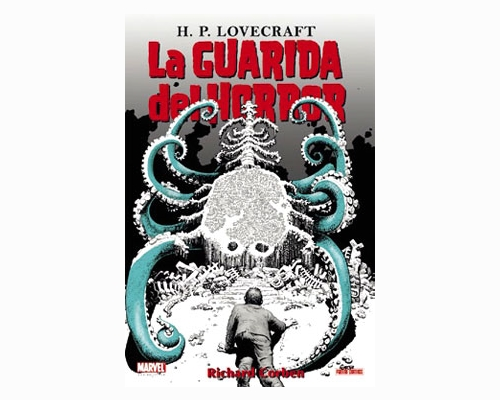 La guarida del horror, portada