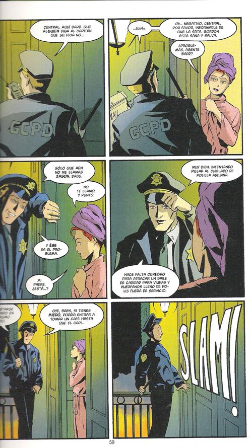 Pagina interior Batgirl: Año uno